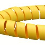 SAFE SPIRAL HOSE PROTECTOR  140mm OD / 127mm ID Yellow