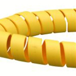 SAFE SPIRAL HOSE PROTECTOR 75mm OD / 66.2mm ID Yellow
